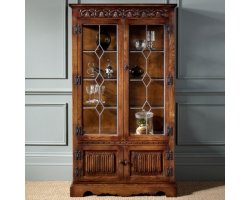Save£430. Old Charm Display Cabinet ...